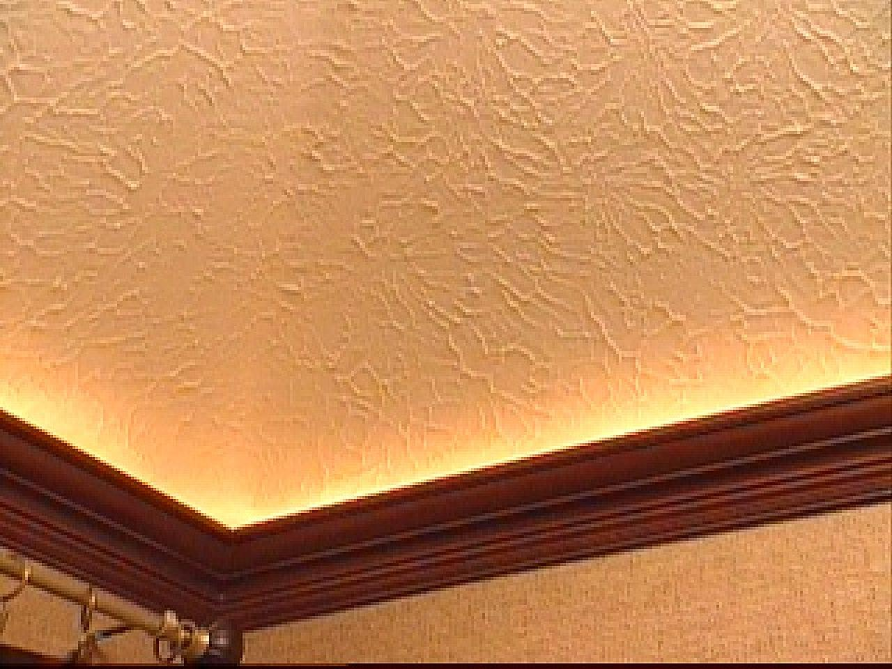 Flat crown molding adds audacious luxury for every corner for Tray ceiling trim ideas