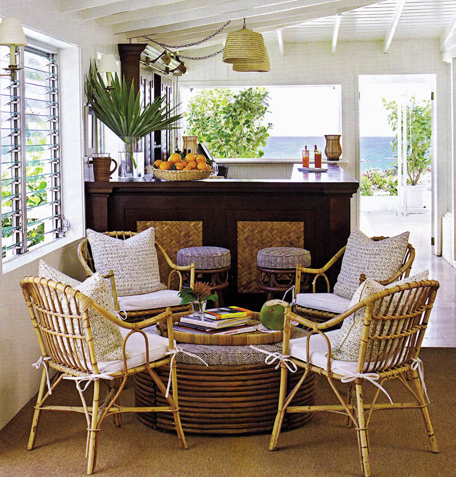 Sunrooms Ideas: Various Elegant And Comfortable Furniture For Casual