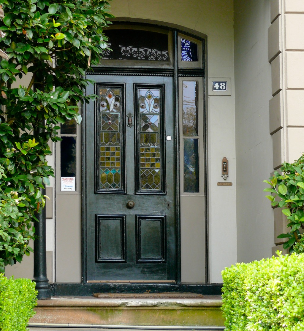 Unique home designs screen door homesfeed for Designer door for home