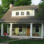conuntry ranch home with simple front porch