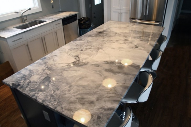 Creative Modern Cool Nice Marble Look Countertop With