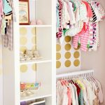 cute closet organizer ideas and shelf with hanging rod for kid's clothes and shoes plus cute stuff