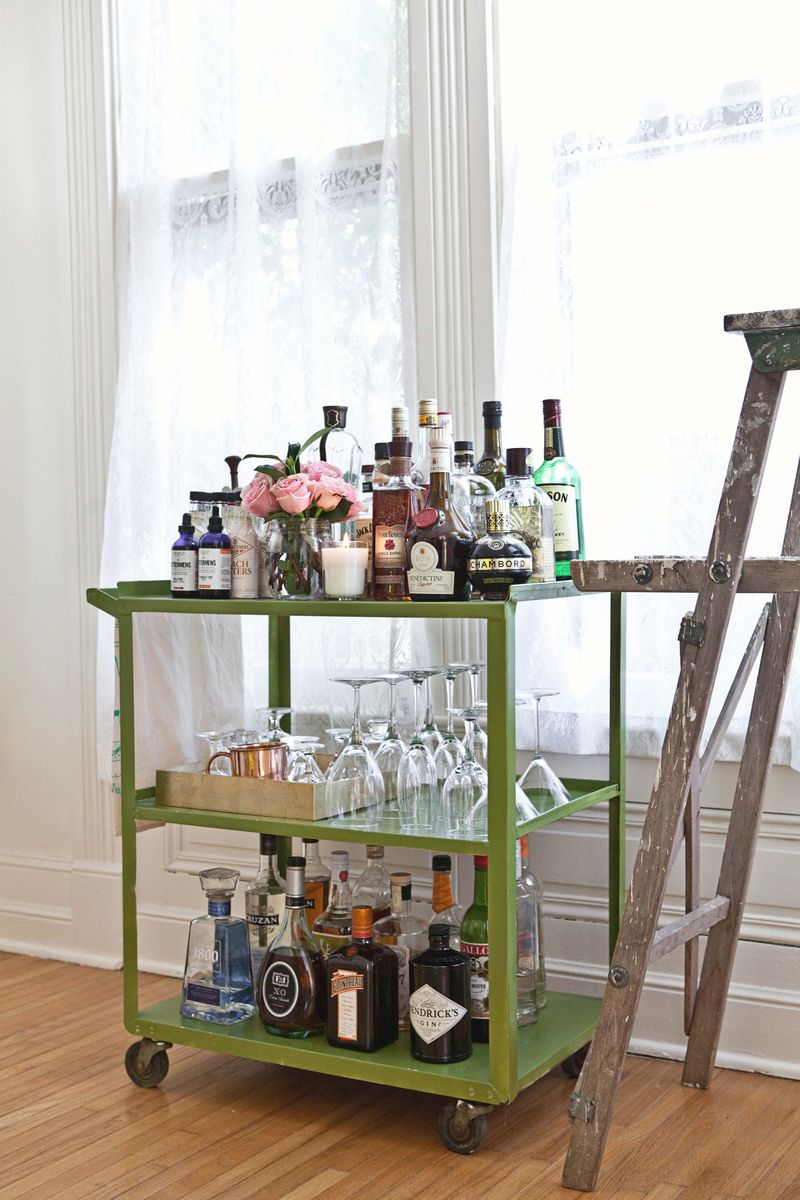 Fancy Bar Cart Ikea That You Can Decorate By Yourself