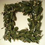 dazzling pottery barn wreaths with green leaf wreath for home decoration ideas