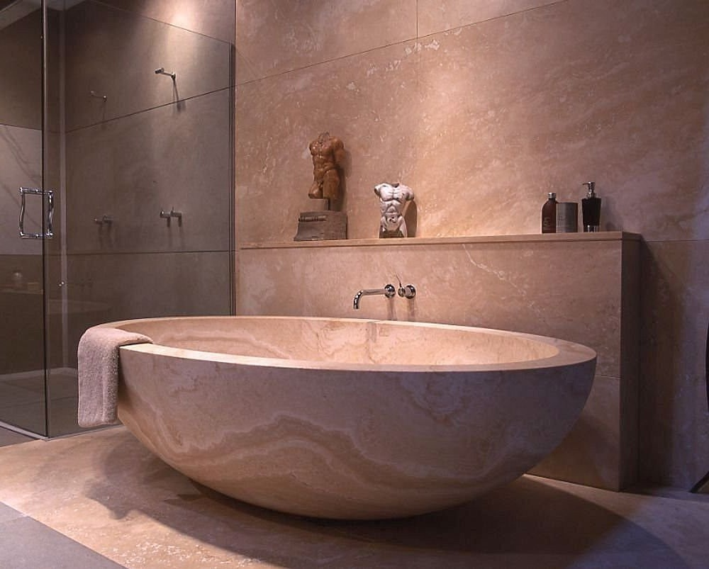 Deep tubs for small bathrooms that provide you functional for Bathroom soaking tub ideas