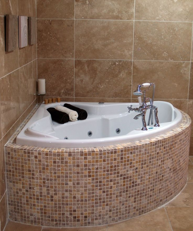 Deep tubs for small bathrooms that provide you functional for Small bathroom design ideas with tub