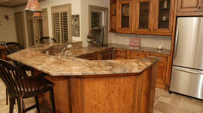 Wonderful Classic Marble Countertop For Kitchen Decoration