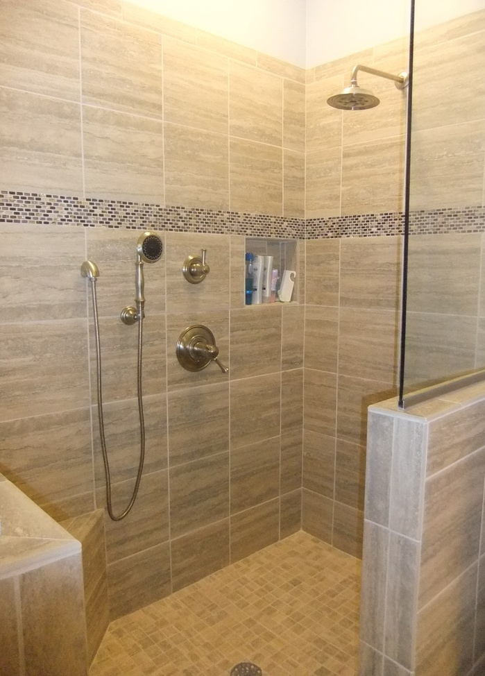 Compact And Accessible Bathroom Ideas With Walk In Showers With No Rh  Homesfeed Com