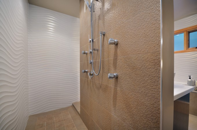 Positive facts about walk in showers without door homesfeed for Huge walk in shower