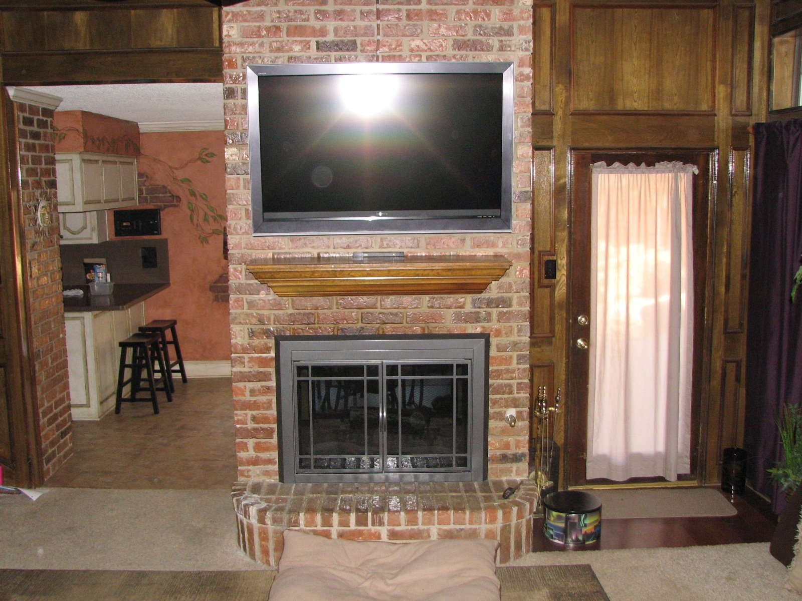 how to get the proper fireplace mantel height for the sake of