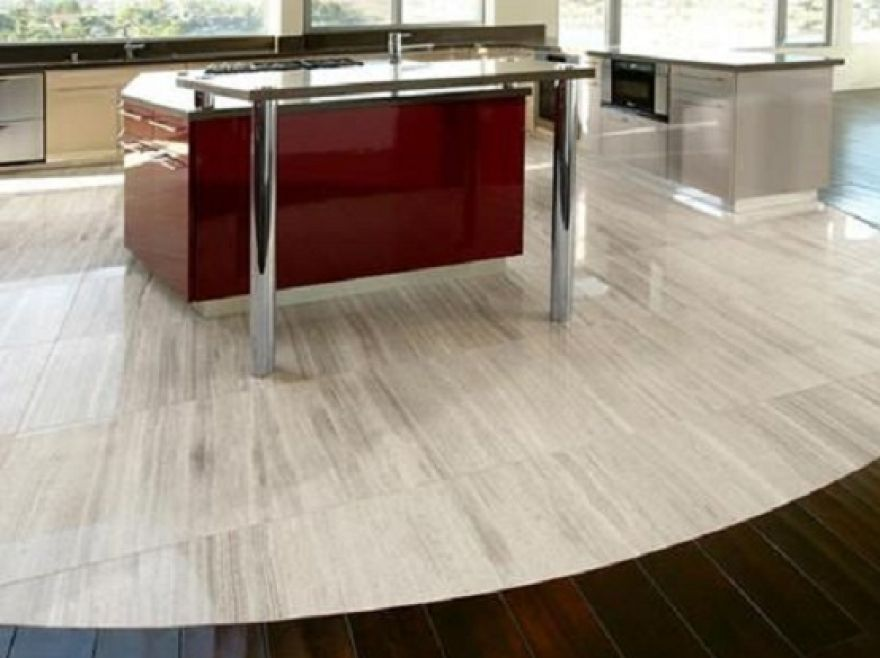 Make your kitchen decoration more alive with the excellent for Flooring kitchen options