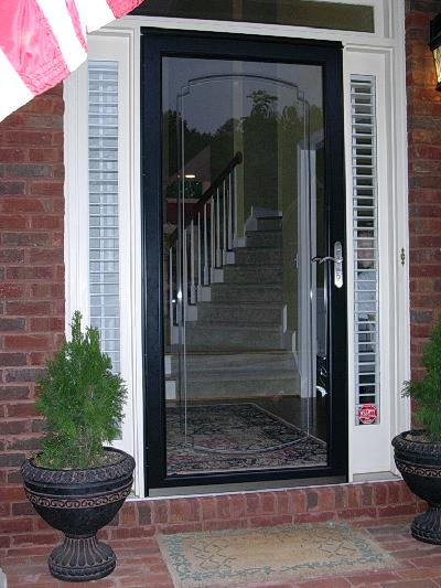 Glass Storm Doors : Unique home designs screen doors buying guide homesfeed
