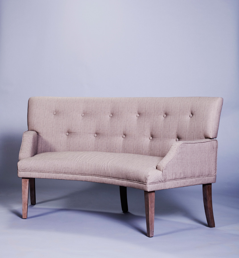 Tufted banquette. gray velvet tufted dining banquette view full ...