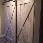 furniture ideas of sliding barn doors for closets in wooden combined with hardwood floor home decoration ideas