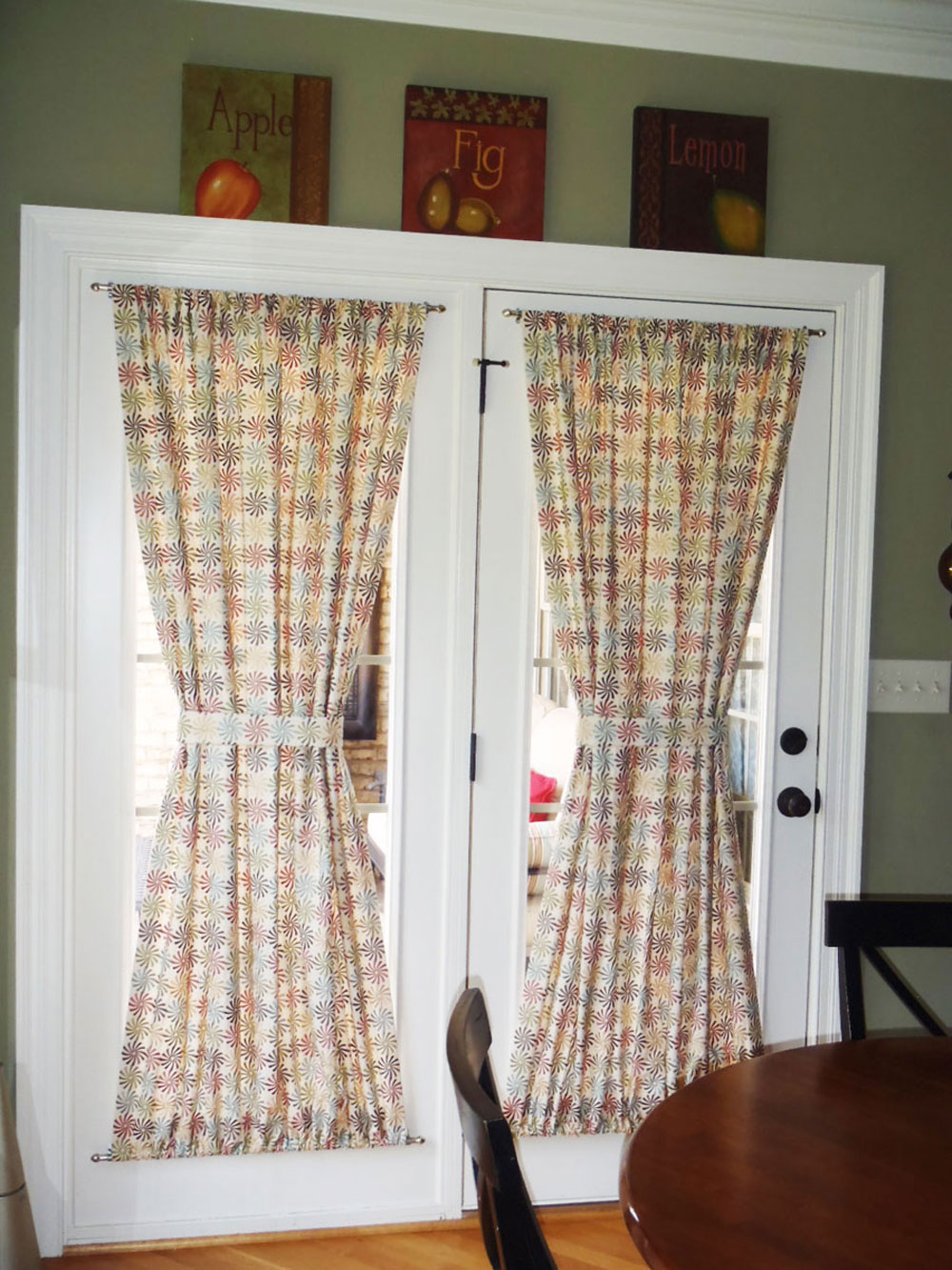 Choose The Right Window Treatment To Make Your French Door