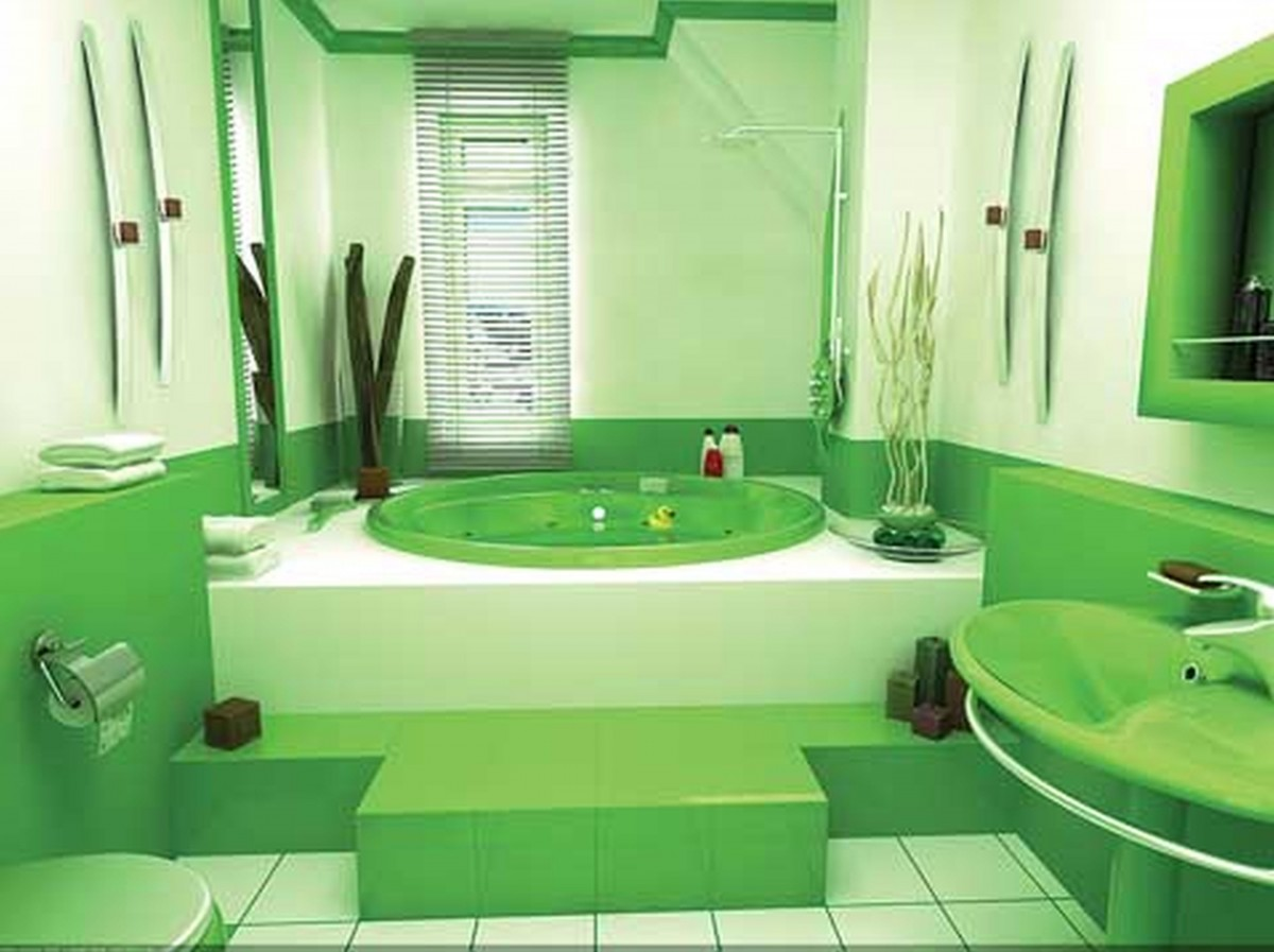 make your bathroom alive with colored bathtubs | homesfeed