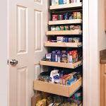 ikea pull out pantry kitchen furniture storage for kitchen ingredients and beverages plus tile floor and wooden door for kitchen furniture ideas