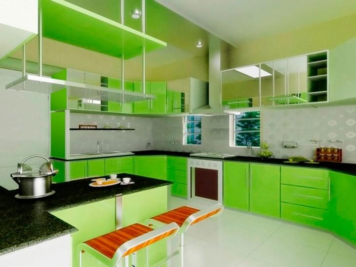 kitchen-cheap-small-green-kitchens-with-black-ubatuba-granite-countertops-and-wall-mount-range-hood-also-white-ceramic-flooring-fresh-green-kitchens-decoration