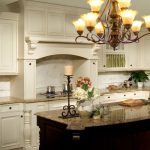 Kitchen Remodeling Northern Va With White Kitchen Cabinets System And Granite Countertops Plus Tile Backsplash And Pretty Ceiling Lamp