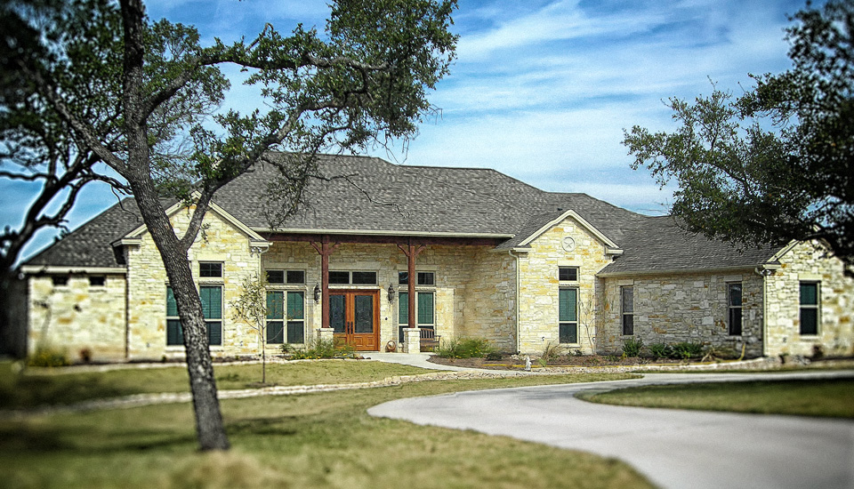 Texas hill country home design homesfeed Hill country home designs