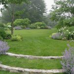 large green landscape inspired from Better Homes and Gardens some groups of lavenders