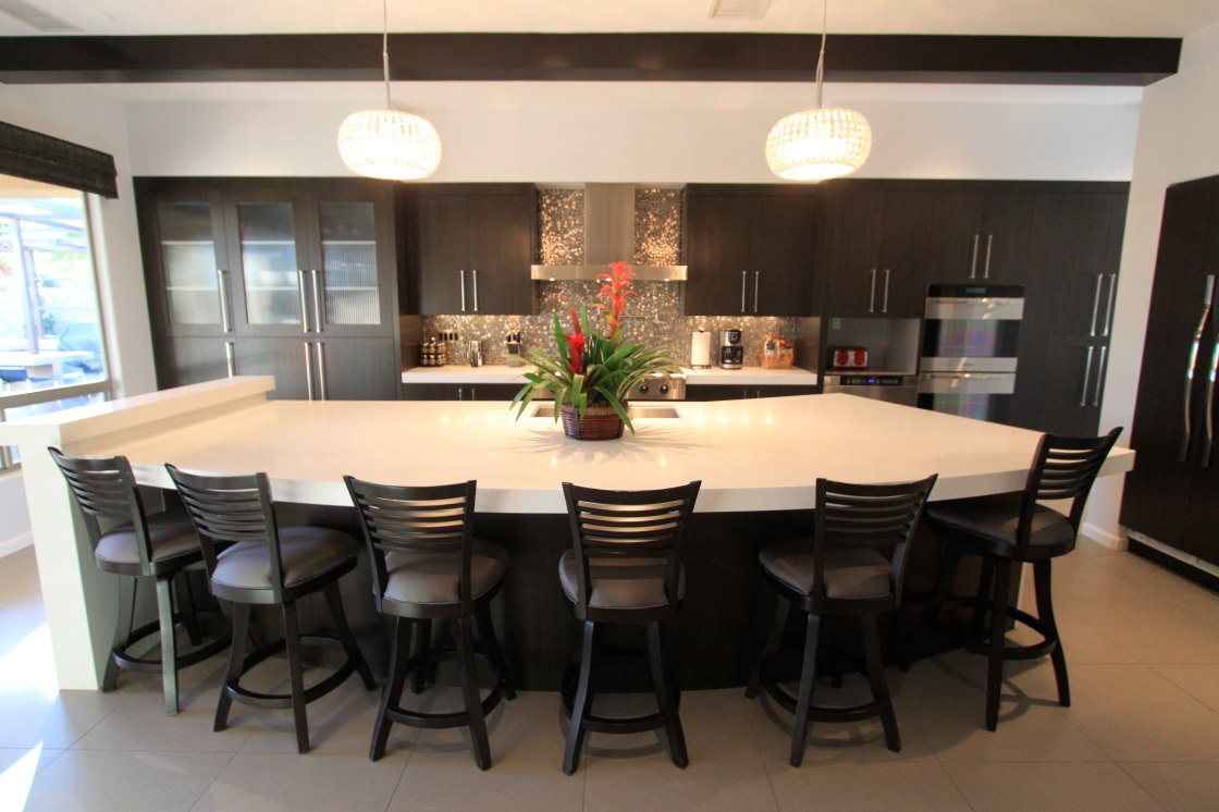 large kitchen islands with seating and storage that will provide