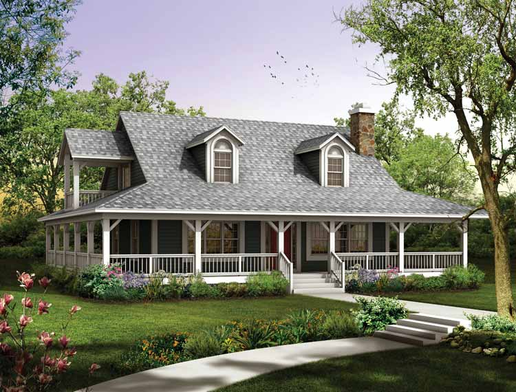 Ranch home designs with porches homesfeed for Home and ranch