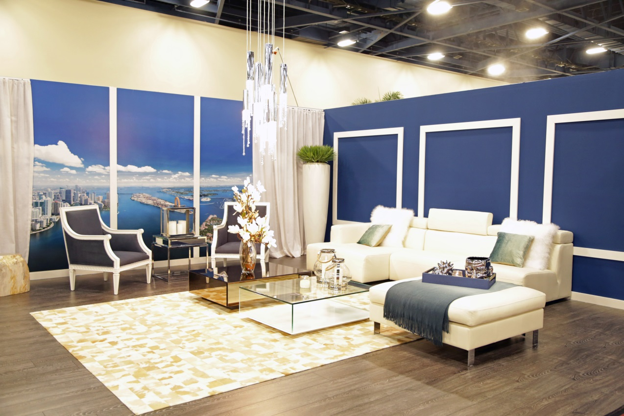 Home Design And Remodeling Show Part - 24: Living Room Furniture In White Tone Color With Silver Tone Pillows Cool And  Full Glass Coffee