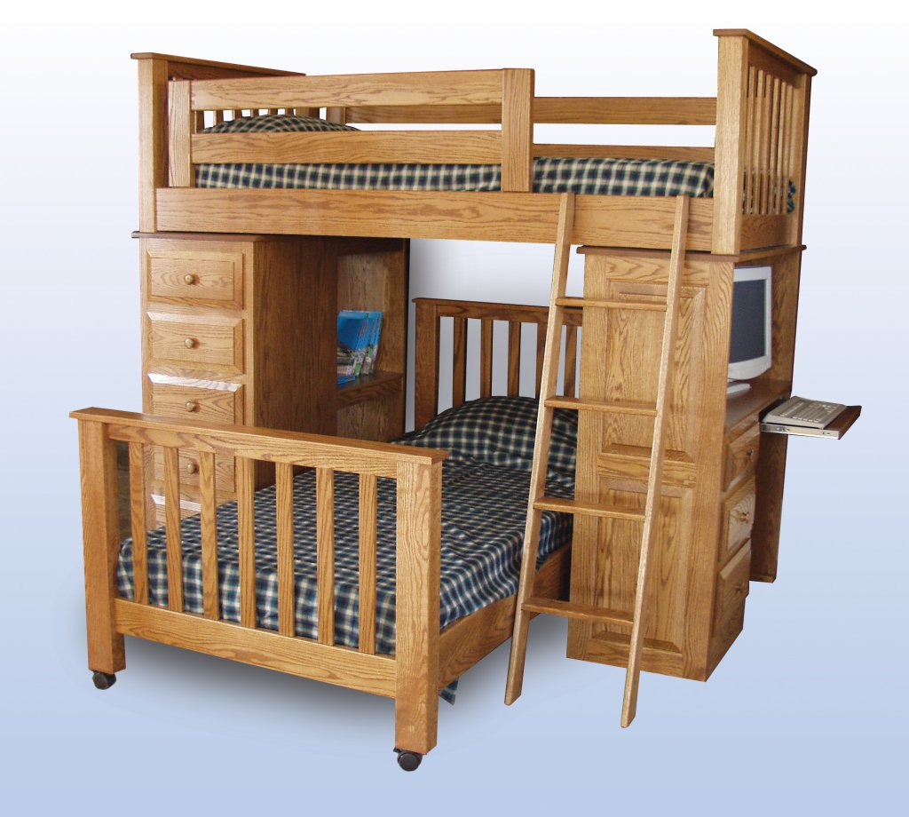 beds at skyway storage desk twin kids bunk simplykidsfurniture and loft with in bed by canwood tower espresso