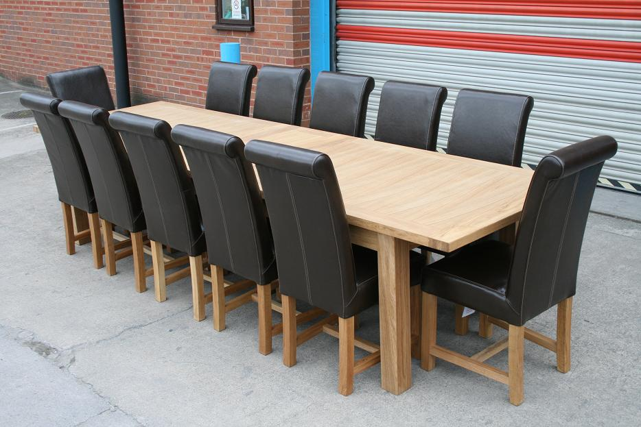 Complete your special family gathering moment in this for 12 person outdoor dining table