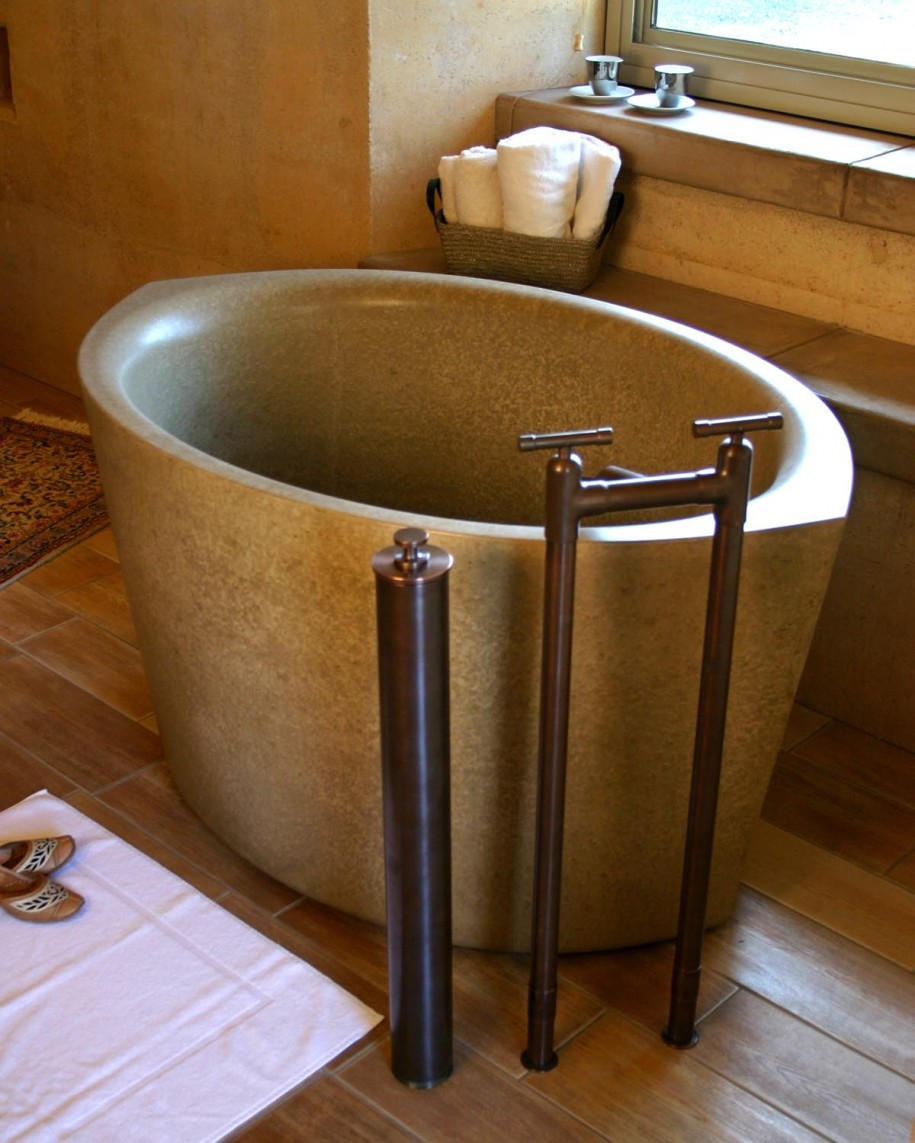 Deep tubs for small bathrooms that provide you functional for Bathrooms in style