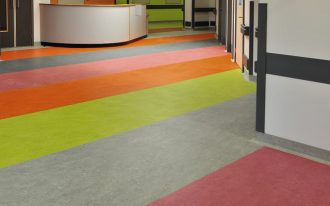 marmoleum floors idea in fun and beautiful colors