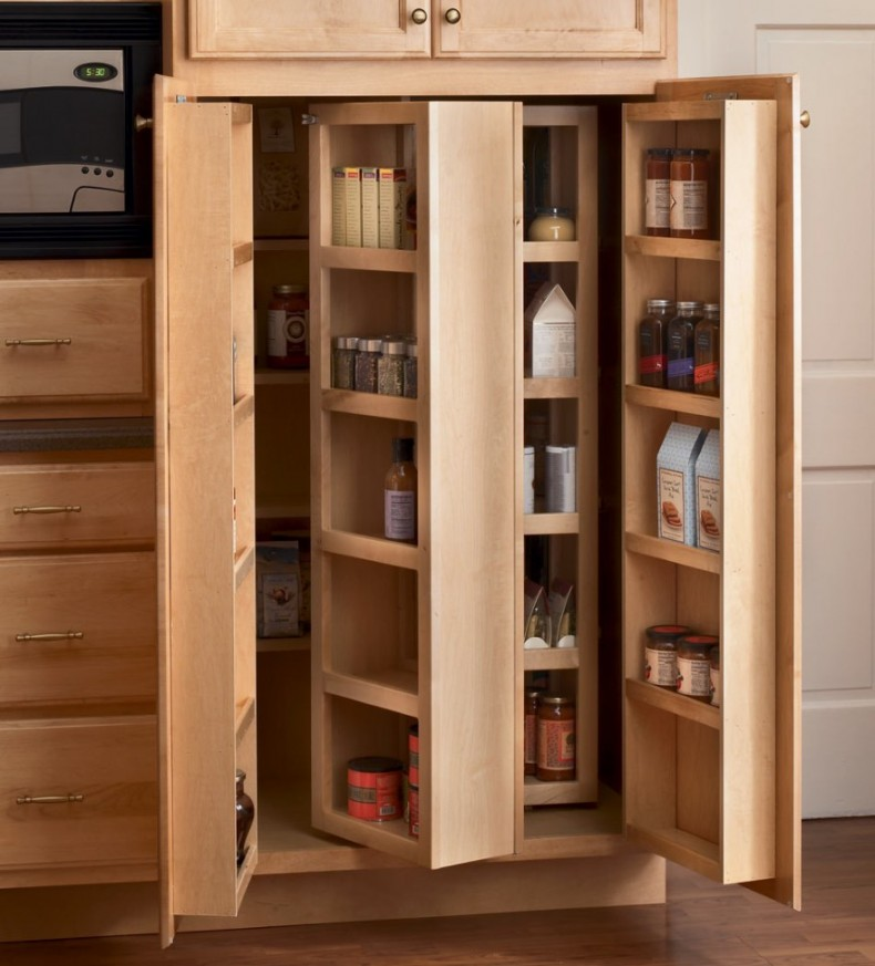 mesmerizing wooden ikea pull out pantry with tree door and shelves for kitchen furniture plus wooden - Kitchen Furniture Storage Cabinets