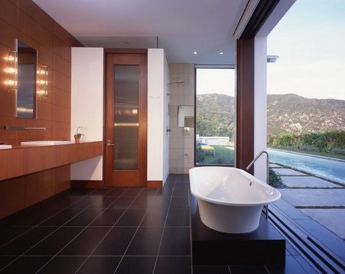Mid century modern vanity upgrades every bathroom with for Contemporary bathroom renovations