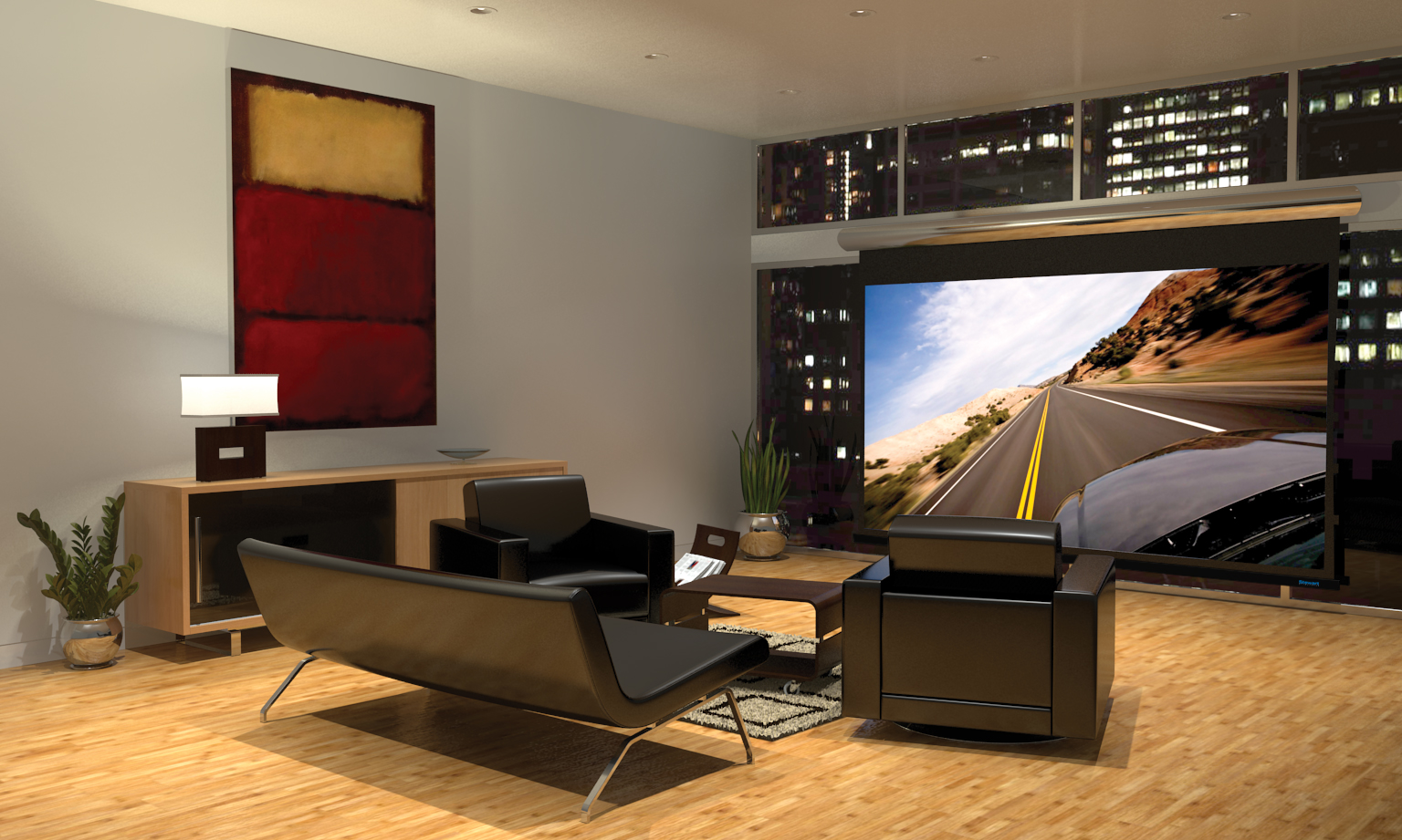 Home theater design and installation homesfeed - Small living room ideas with tv ...