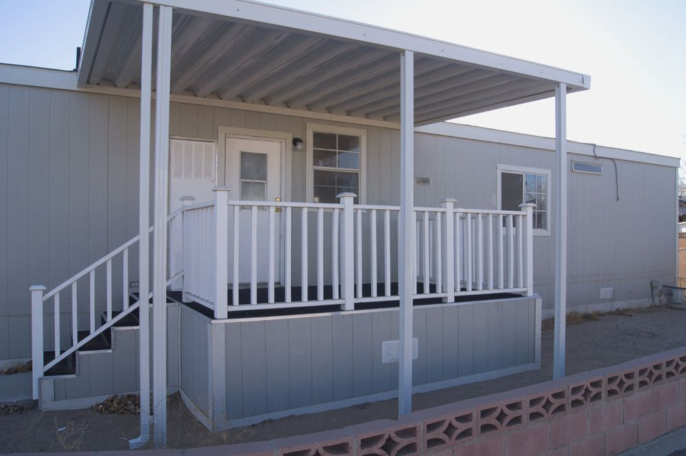 Front Porch Designs For Mobile Homes | Homesfeed