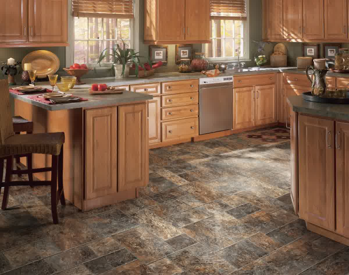 Vinyl Floor Tiles Kitchen Best Tile For Kitchen Floor Home Decor Glamorous Cheap Flooring