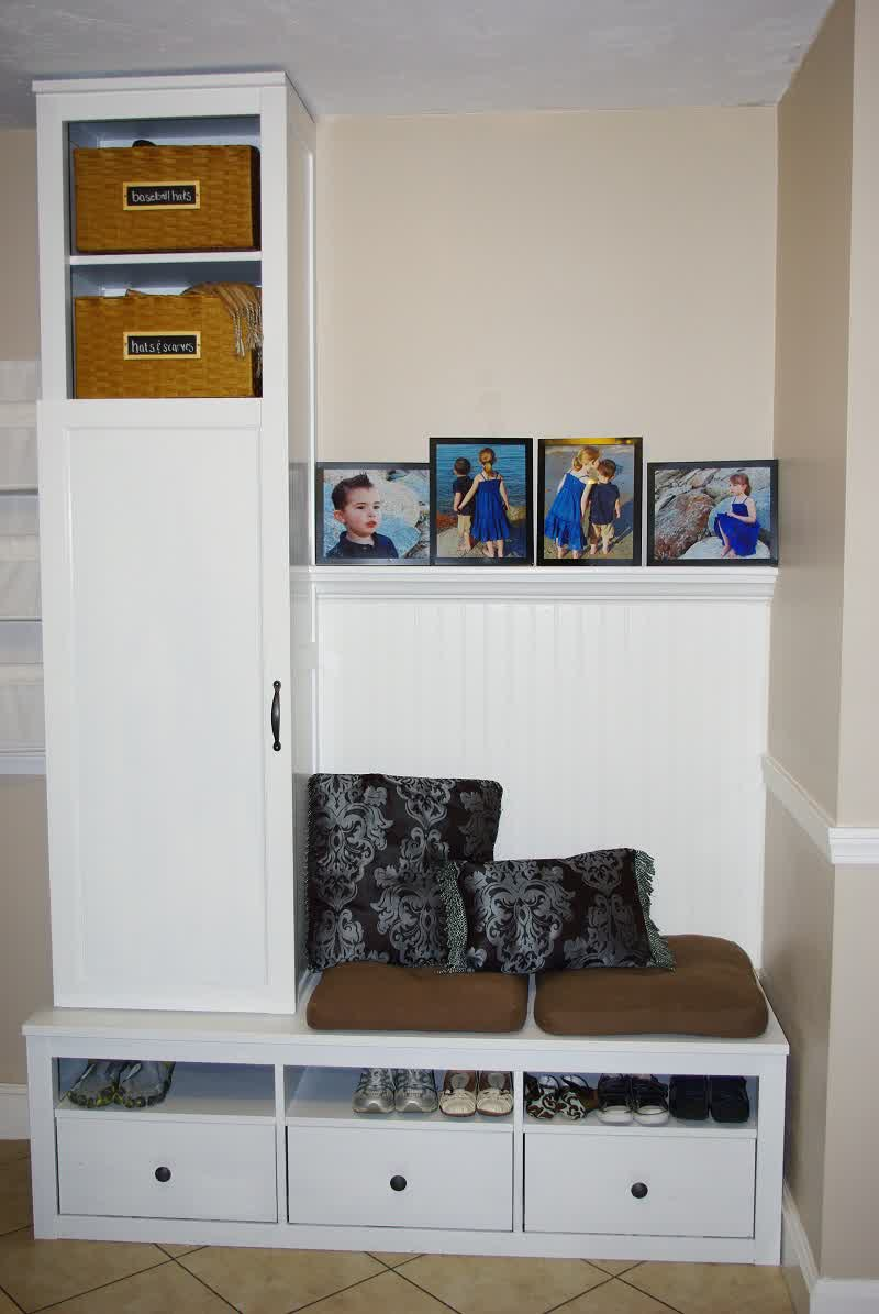 Mudroom Wall Storage Unit : Mudroom storage units that will present tidy impression at