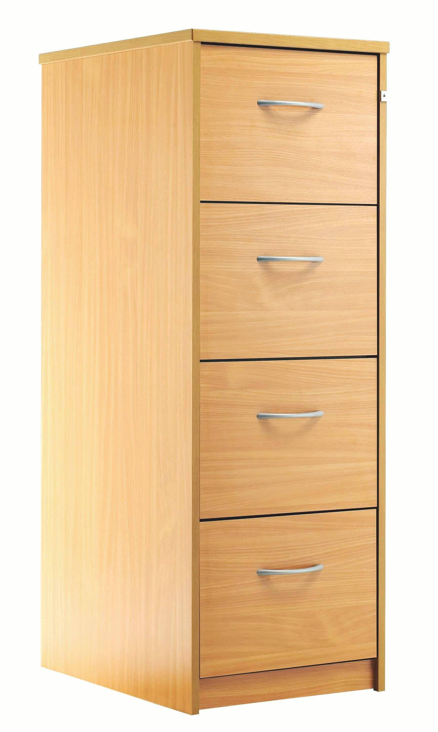 modern wood file cabinet ikea for home office ideas with four drawer and aluminum handles