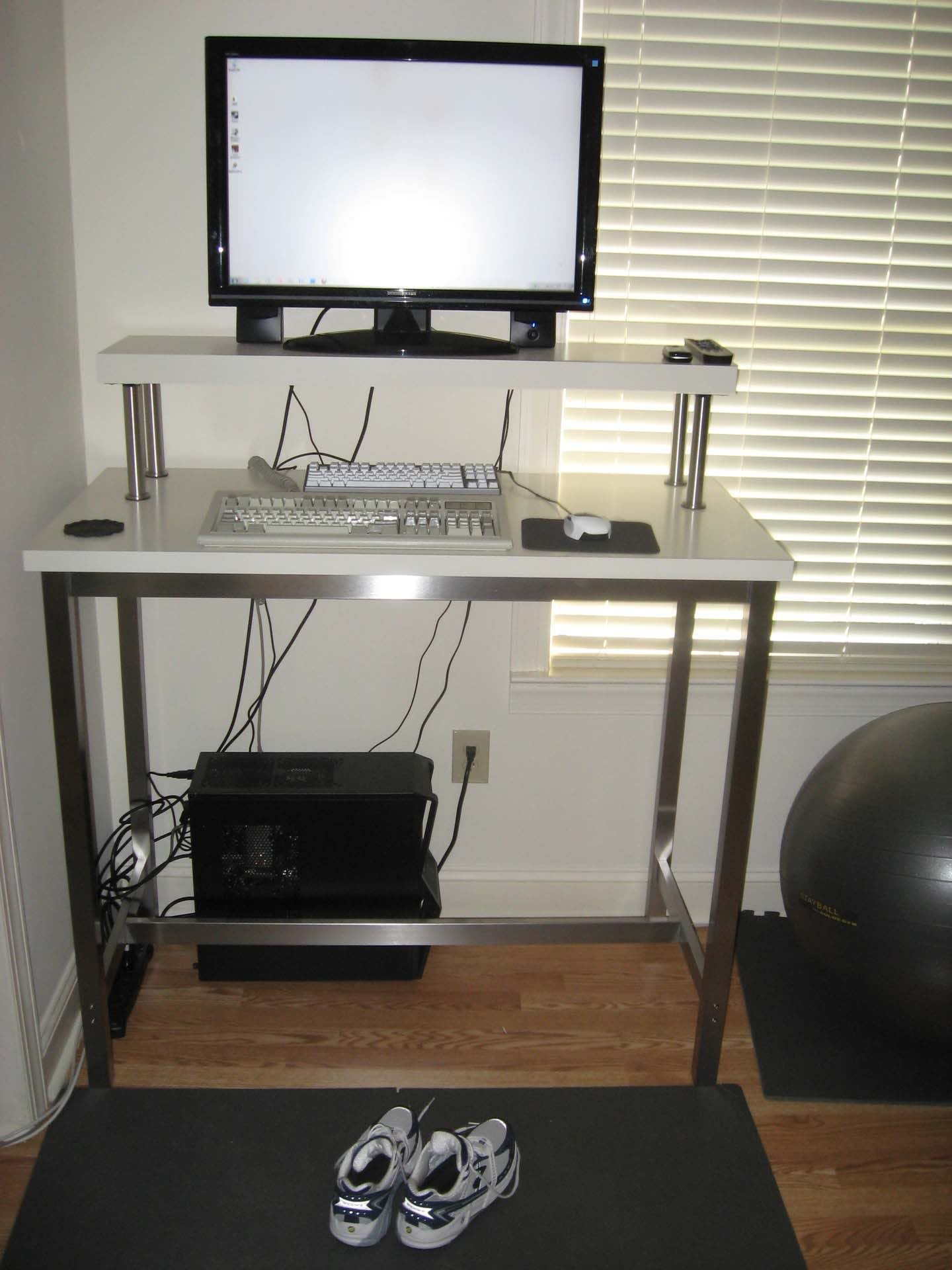 Monitor Stands From Ikea For Proper Monitor Positions