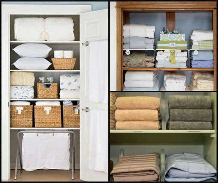 Perfect Nice Cool Awesome Linen Closet Organizer With