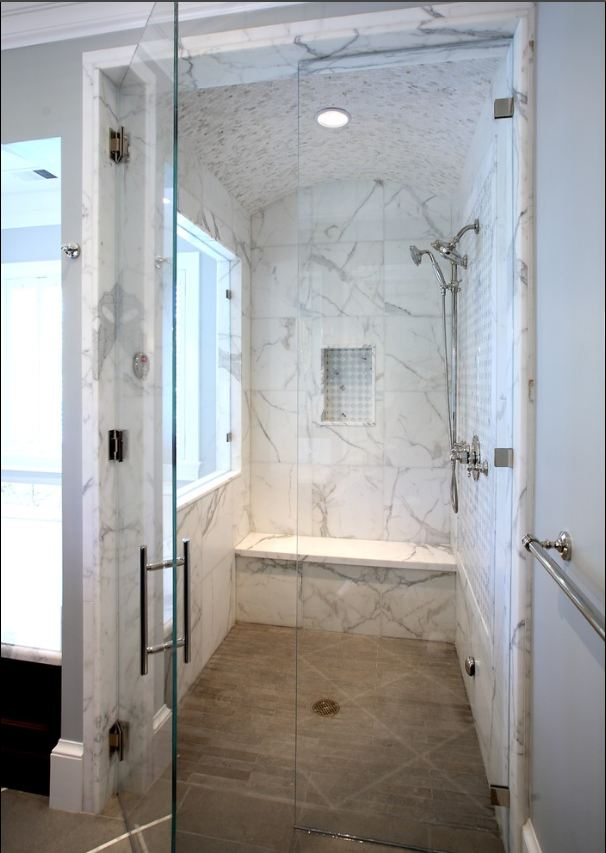 The Porcelain Tile That Looks Like Marble Which Offers the ...