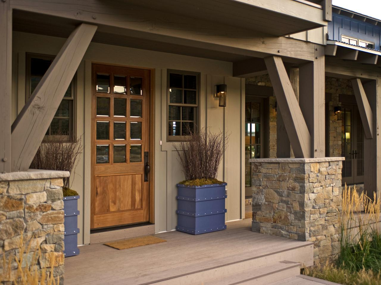 Front Porch Designs For Ranch Homes HomesFeed - Porch Styles For Ranch Homes