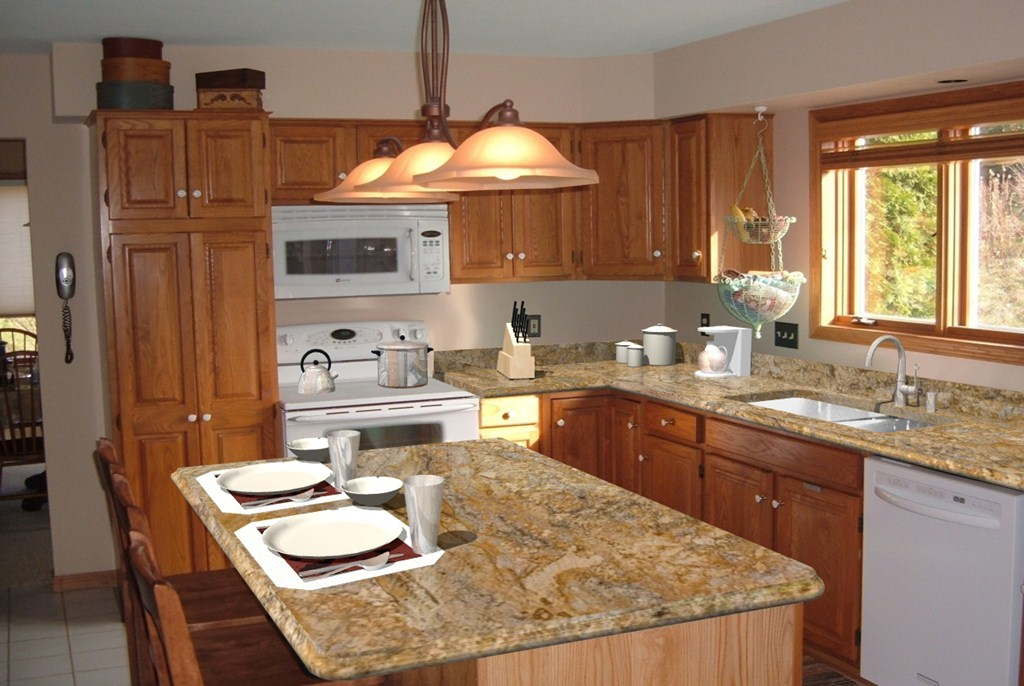Kitchen Counter Top Designs Classy Photo  Cost To Install Kitchen Cabinets Imagesgray Distressed . Inspiration