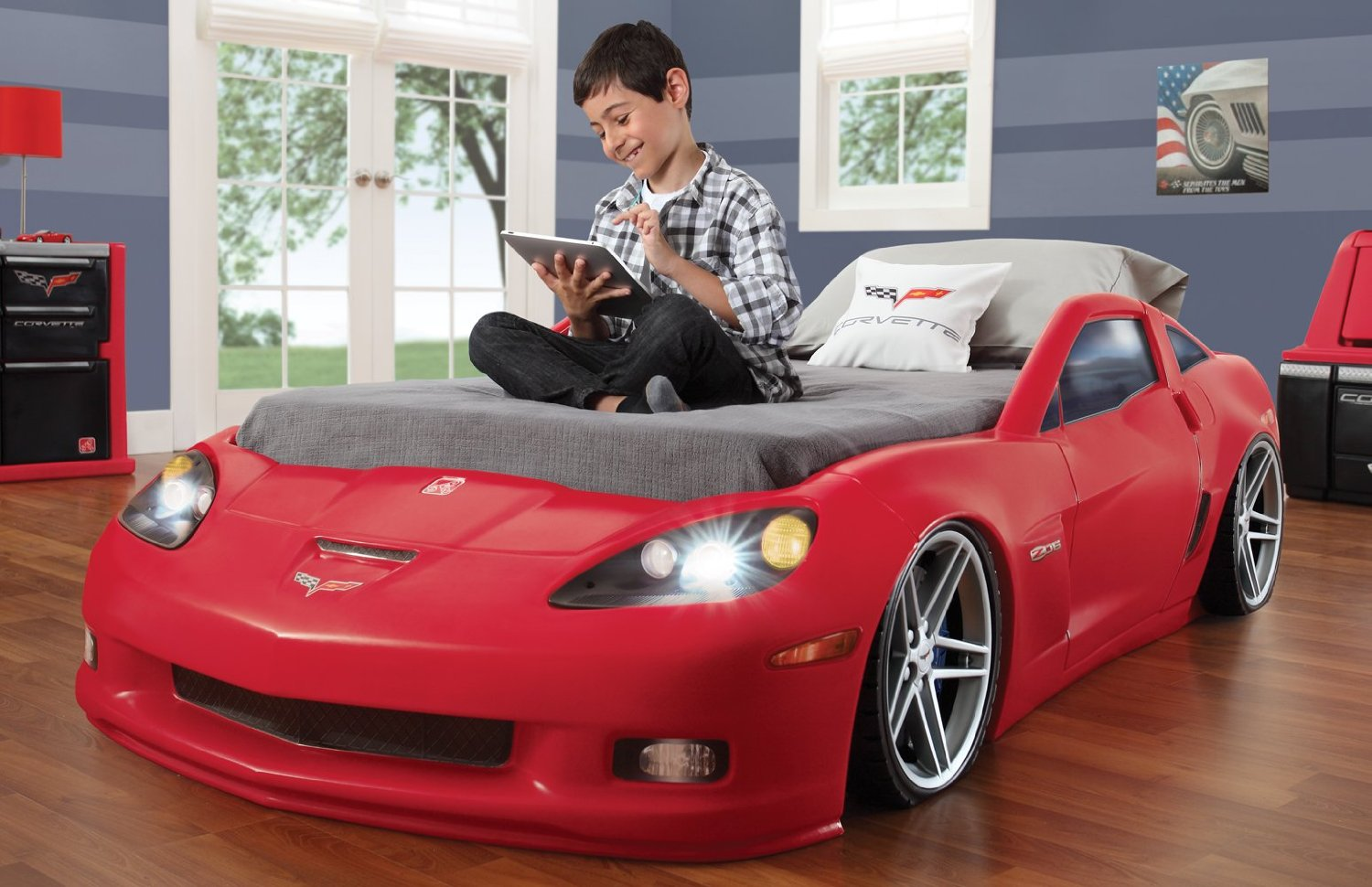 Build Imaginative Bedroom Ideas with Race Car Beds for Toddlers ...
