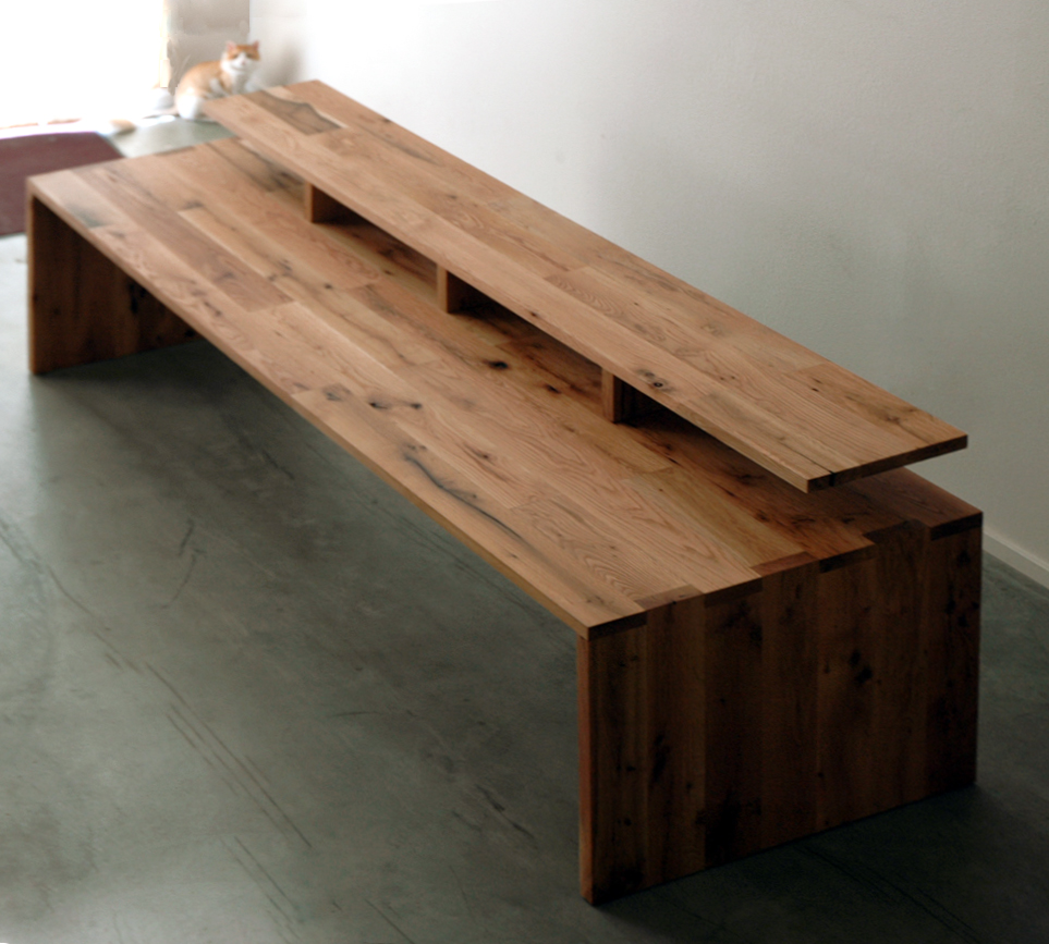 Wood Desk Tops That Present Rustic And Traditional Furniture Styles - Refurbished wood table tops