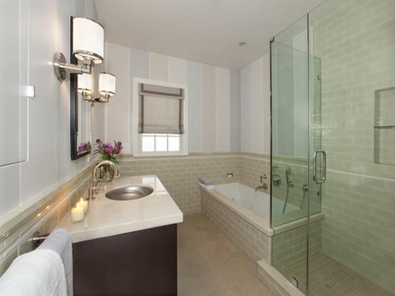 Efficient Bathroom Space Saving With Narrow Bathtubs For Small Bathroom Ideas Homesfeed
