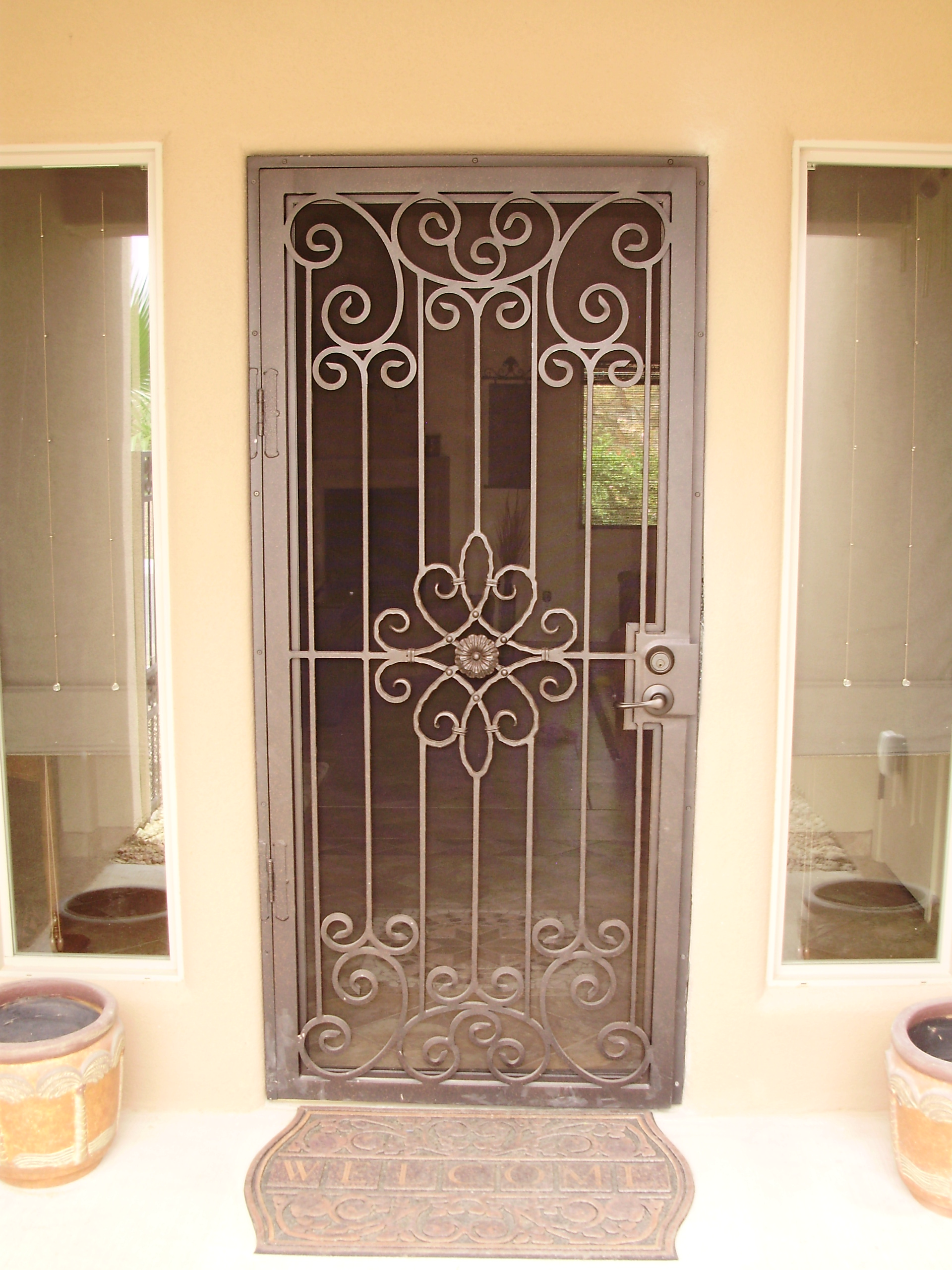 Entry Doors With Screens : Unique home designs screen doors buying guide homesfeed