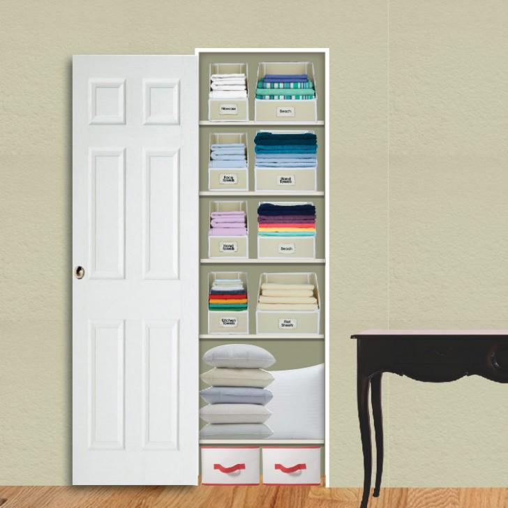 Awesome linen closet organizers homesfeed for Linen closet designs