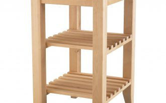 simple microwave cart ikea in wooden with racks and wheels for home kitchen furniture